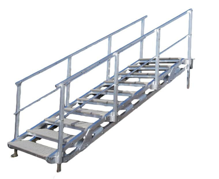 10 Step Articulating Stairs
