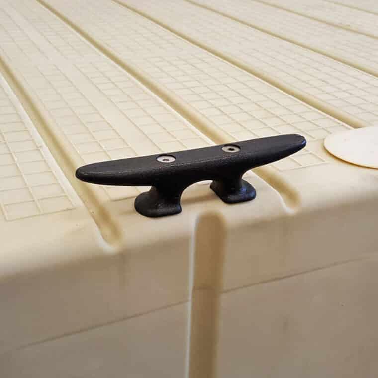 EZ Dock Nylon Tie up Cleat with Screws