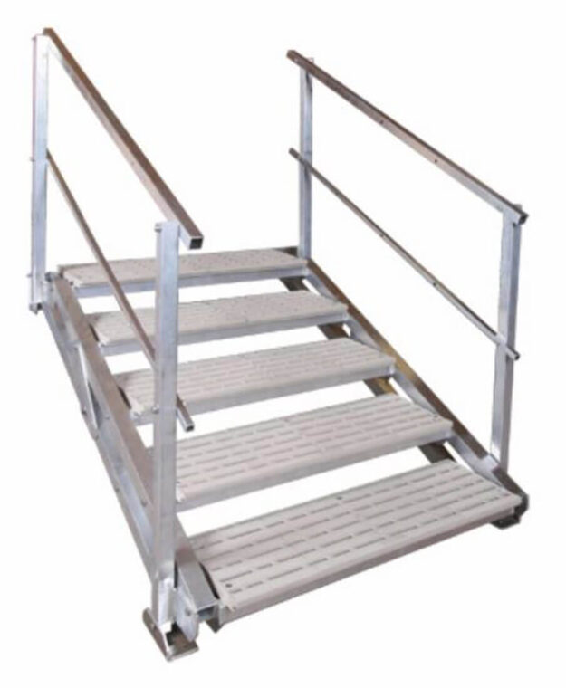 5 Step Articulating Stairs