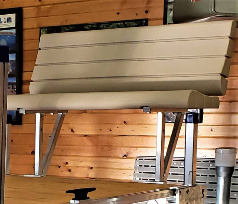 ShoreMaster Bench without Armrests