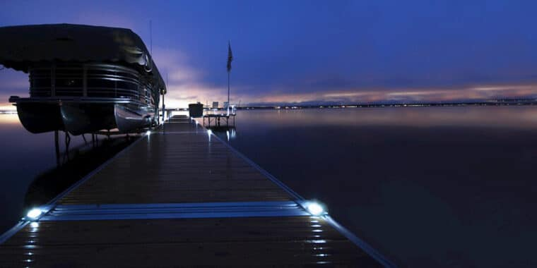 ShoreMaster Solar Dock Lights