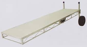 Aluminum Truss Frame with Aluminum Decking