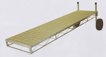 Aluminum Truss Frame with SunWalk Vinyl Decking
