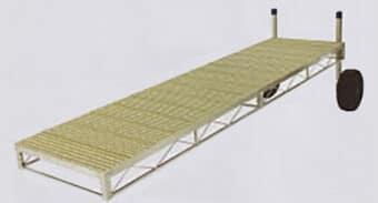Aluminum Truss Frame with Titan Decking