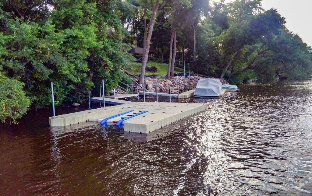 BoatPort Floating Lift