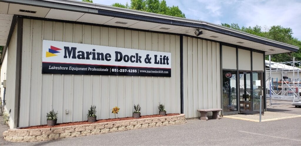 Marine Dock & Lift Store Front