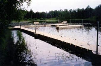 Swim Barricade