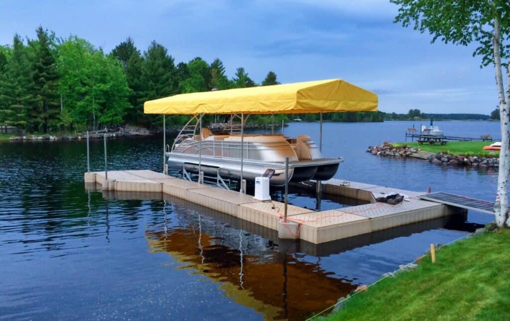 Poly Dock Floating Dock
